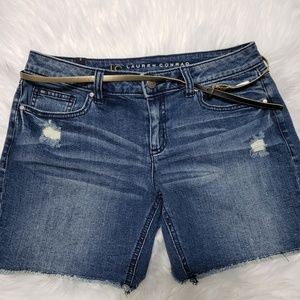 NwOT... LC Lauren conrad denim shorts
